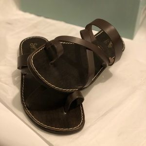 Seychelles leather sandals
